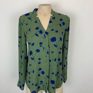 Buy 2 Get 2🎁Banana Republic Green Blouse XS
